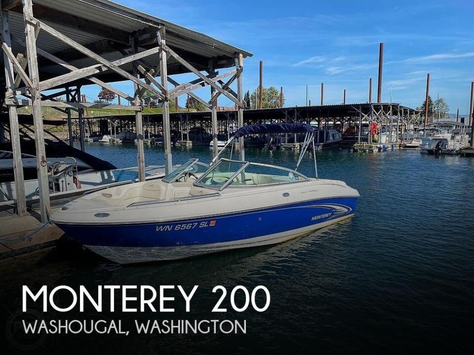 2004 Monterey montura 200ls