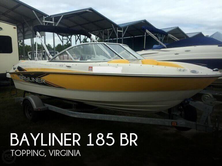 2013 Bayliner 185 BR