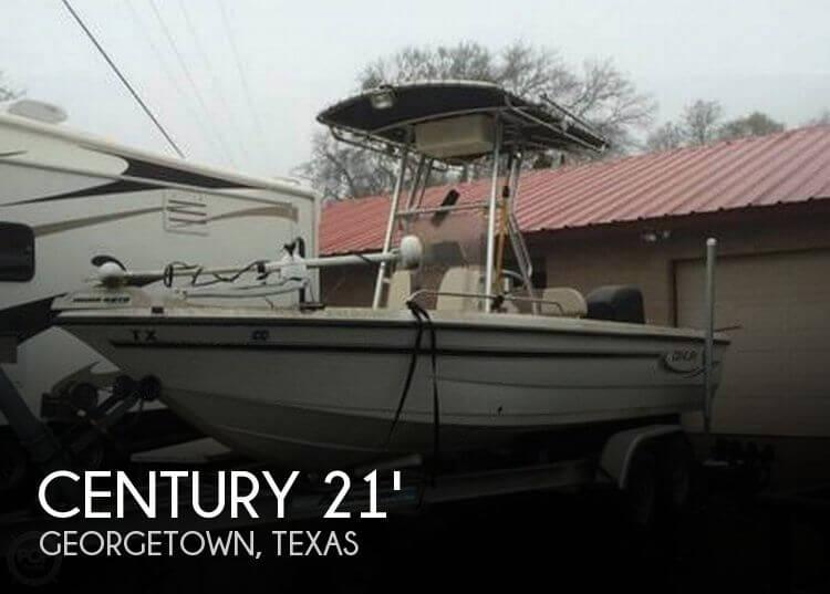 2004 Century 2101 CC Bay Boat