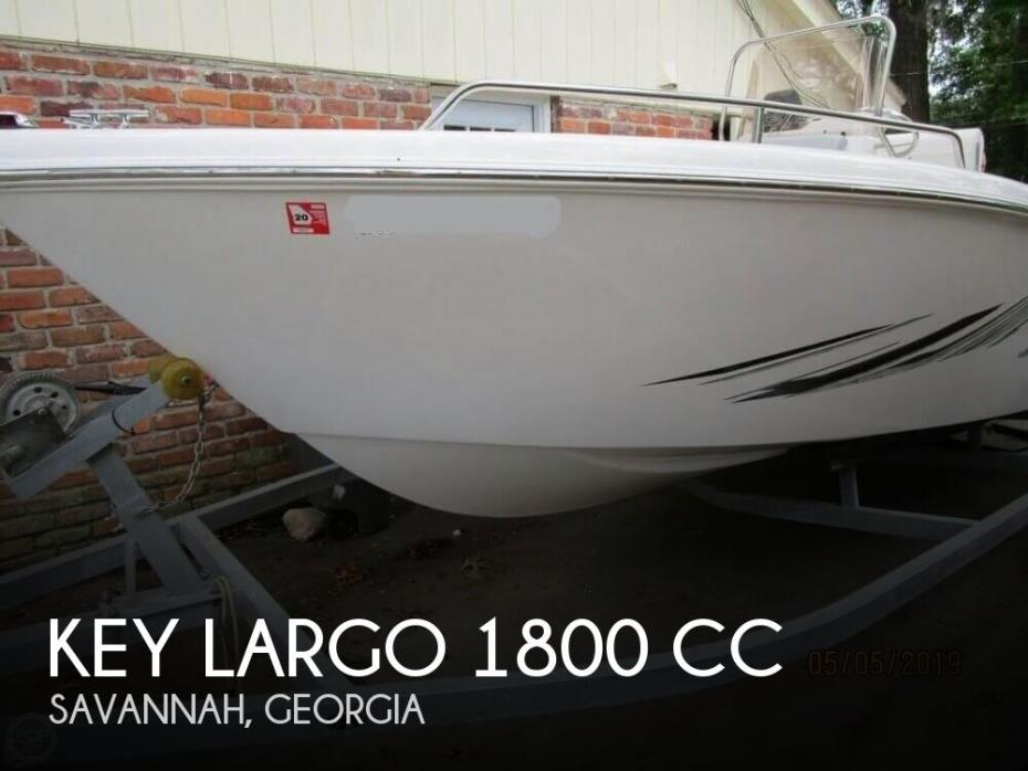 2017 Key Largo 1800 CC