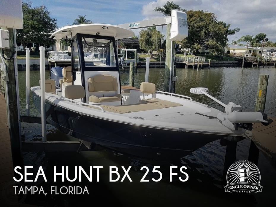 2018 Sea Hunt BX 25 FS