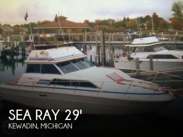 1980 Sea Ray 300 Sedan Bridge
