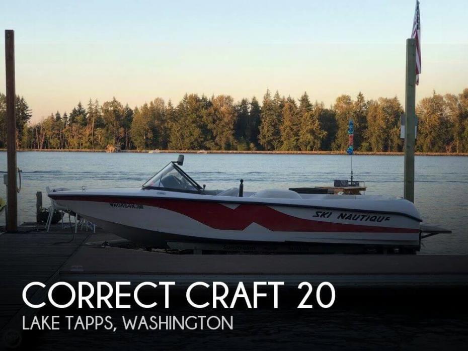 2000 Correct Craft 20