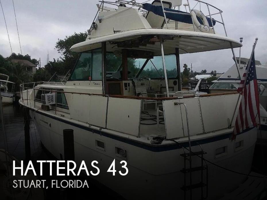 1977 Hatteras 43 Double Cabin