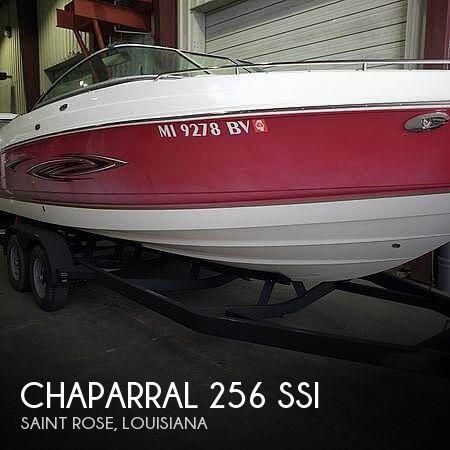 2006 Chaparral 256 SSi
