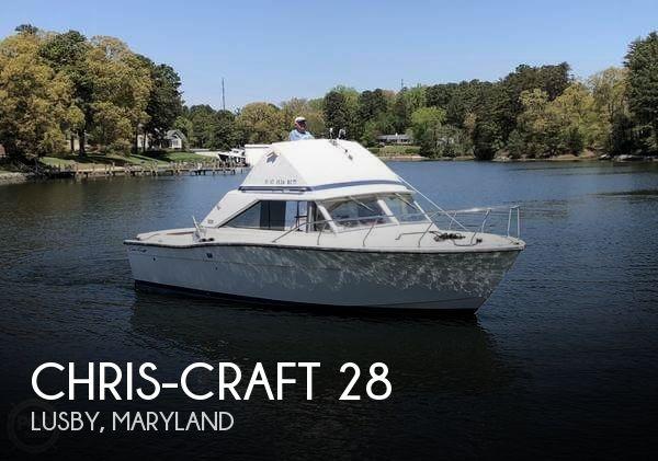1972 Chris-Craft 28 Commander