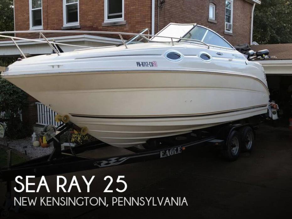 2004 Sea Ray 25