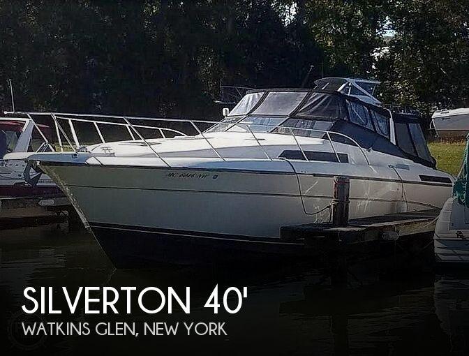 1989 Silverton 40X Express