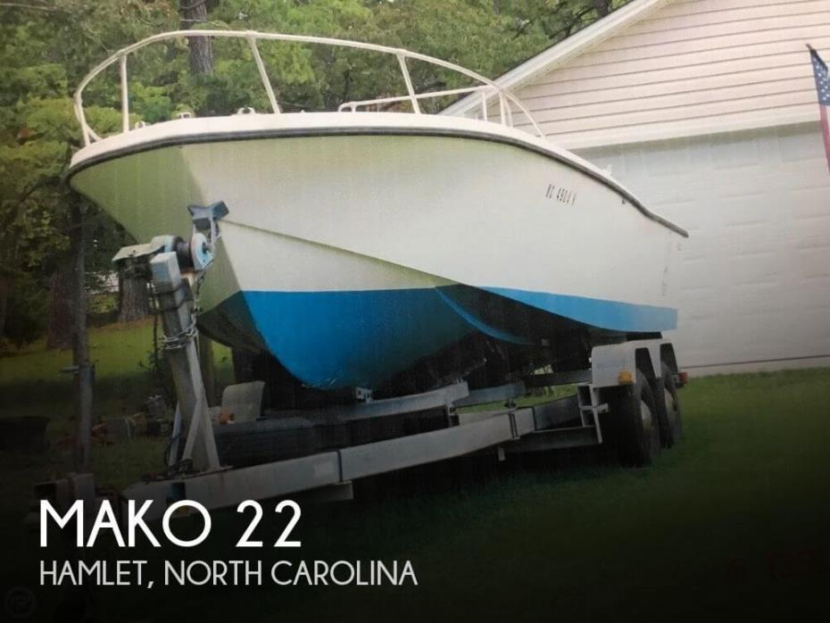 1973 Mako 22 CC