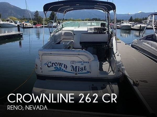 2001 Crownline 262 CR