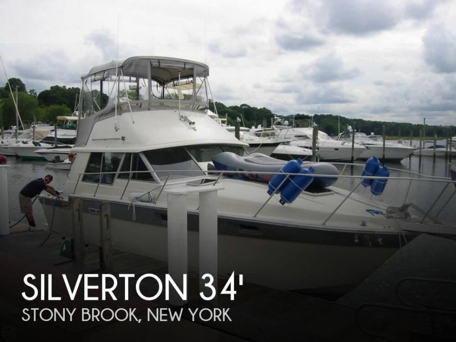 1987 Silverton 34 Convertible