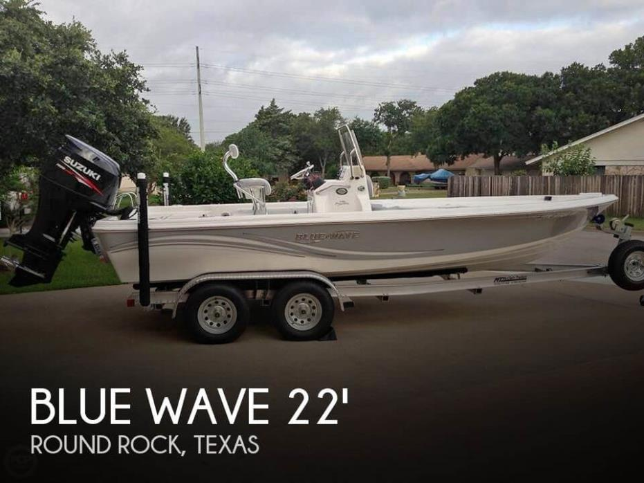 2013 Blue Wave 2200 Pure Bay