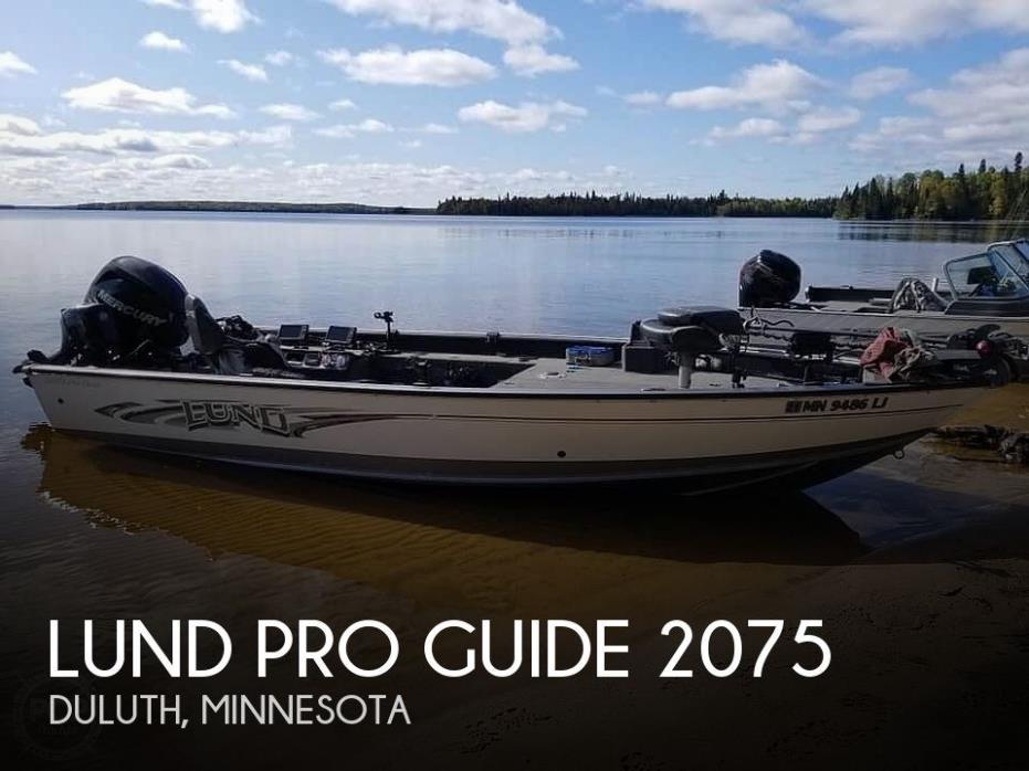 2016 Lund Pro Guide 2075
