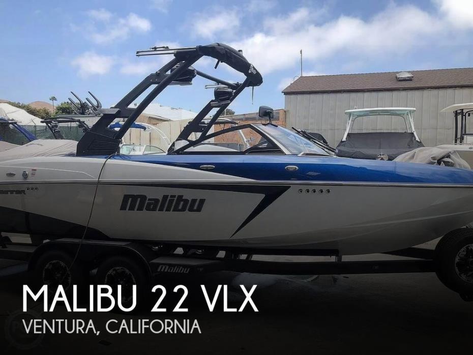 2018 Malibu 22 VLX Wakesetter