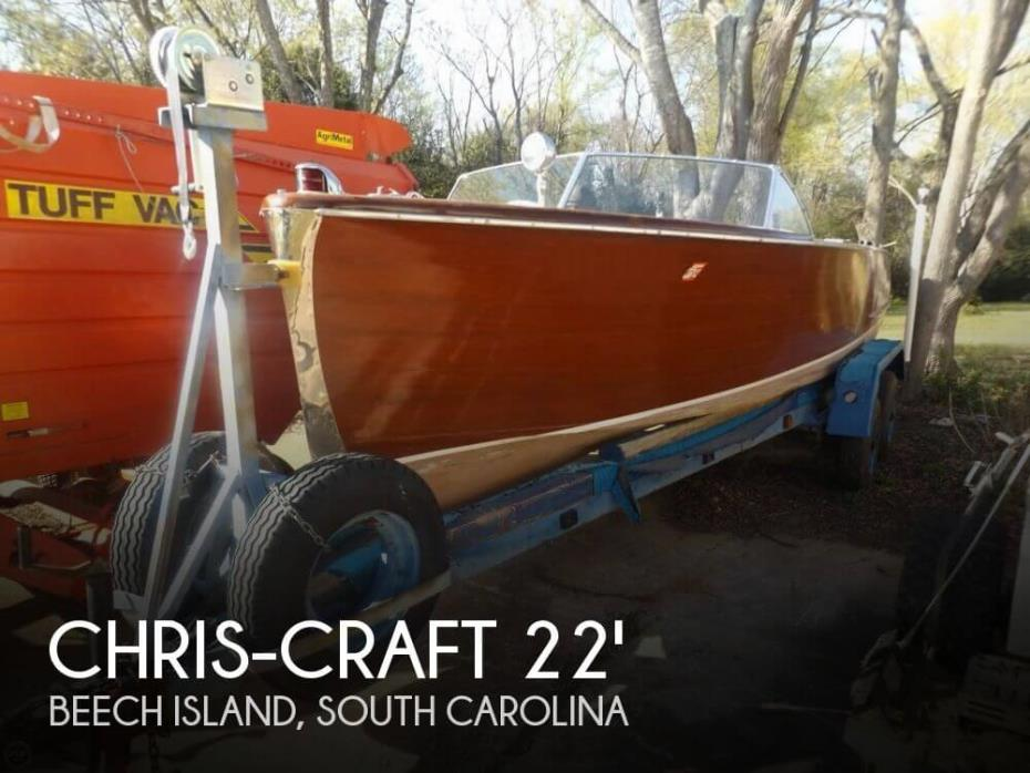 1950 Chris-Craft 22 Sportsman