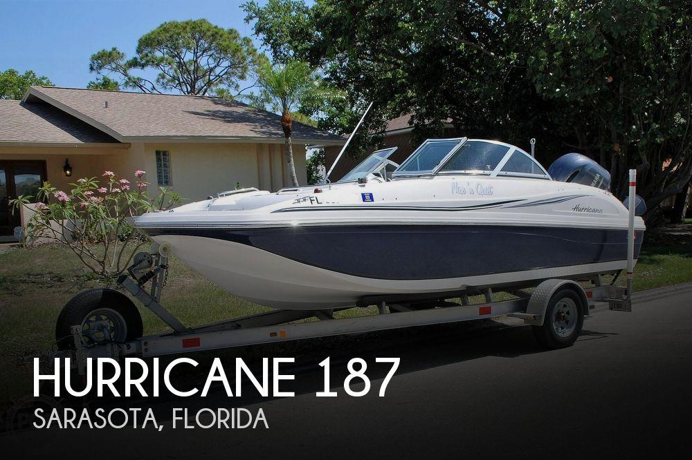 2014 Hurricane Sundeck 187