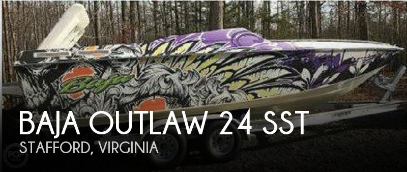 1997 Baja Outlaw 24 SST
