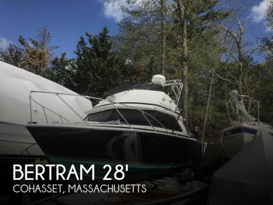 1975 Bertram 28 Flybridge