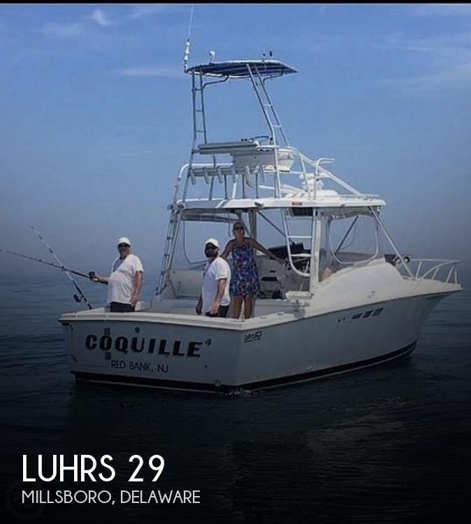 1999 Luhrs 29