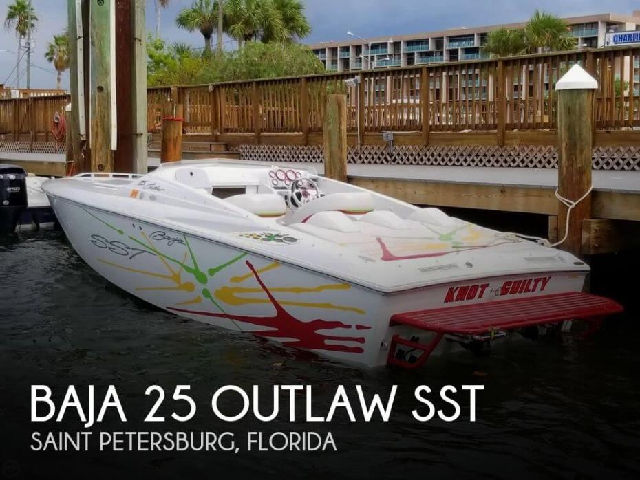 2002 Baja 25 Outlaw SST