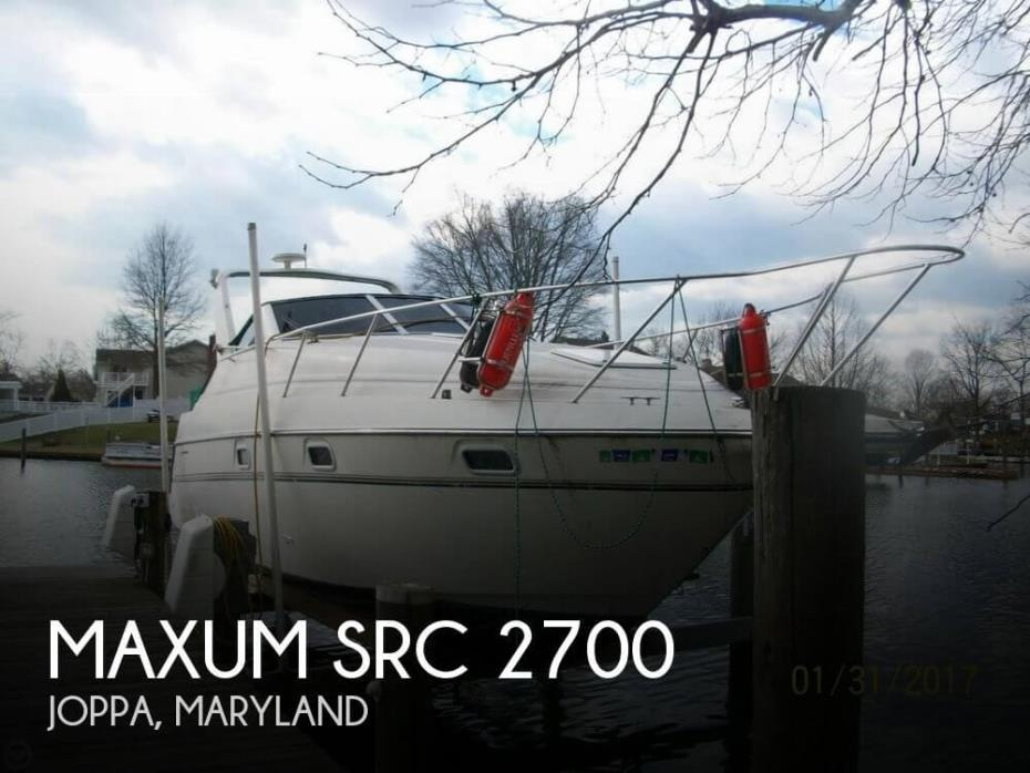 1996 Maxum 2700 SRC