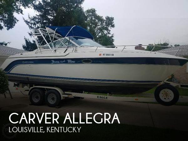 1990 Carver 2587 Allegra