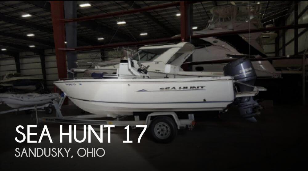 2013 Sea Hunt 17