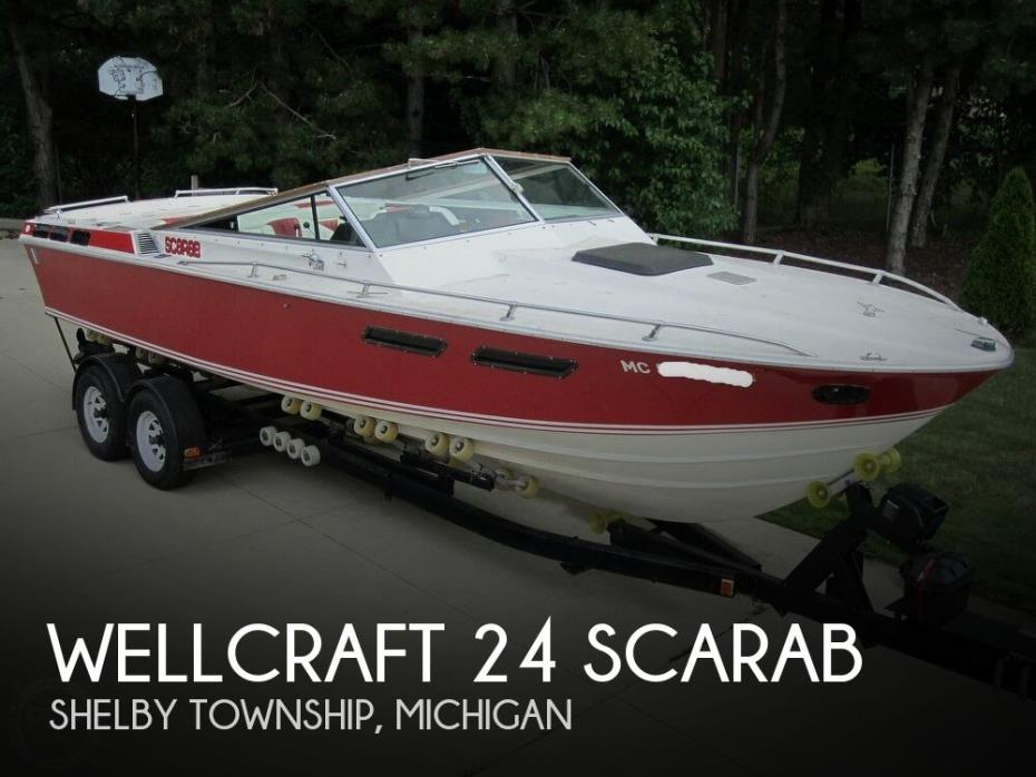 1979 Wellcraft 24 Scarab