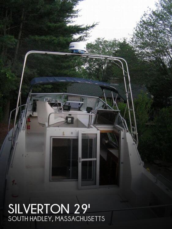 1986 Silverton 29 Sport Cruiser
