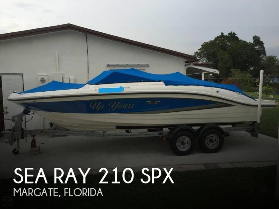 2016 Sea Ray 210 SPX