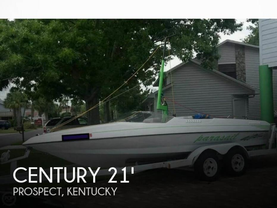 1984 Century 21 CTS Parasail Boat