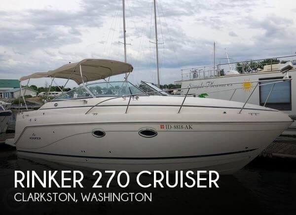 2007 Rinker 270 Cruiser