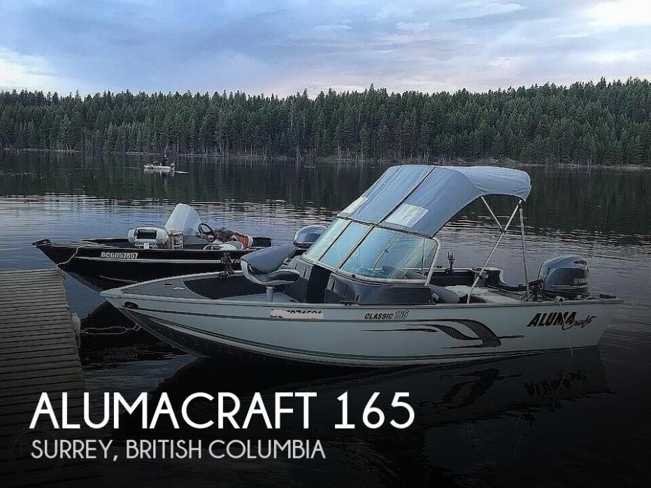 2016 Alumacraft Classic 165