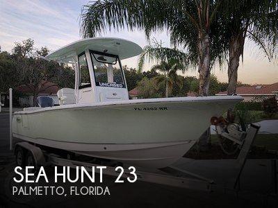 2018 Sea Hunt 23