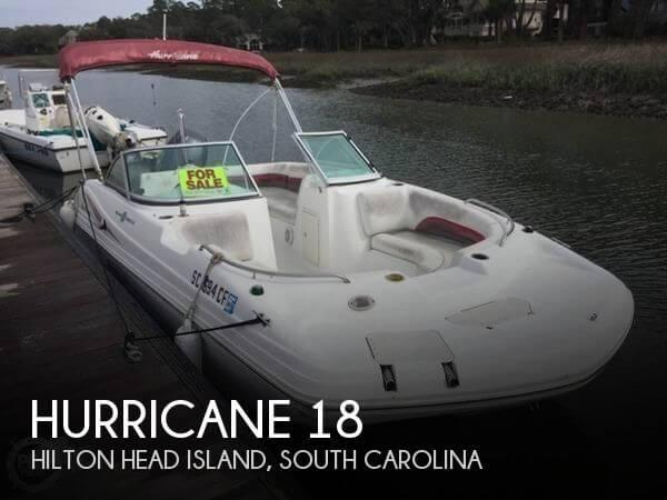 2012 Hurricane 187 Sun Deck