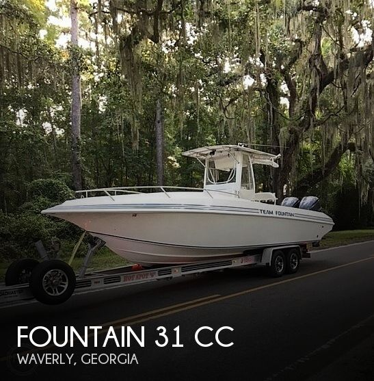 1996 Fountain 31 CC