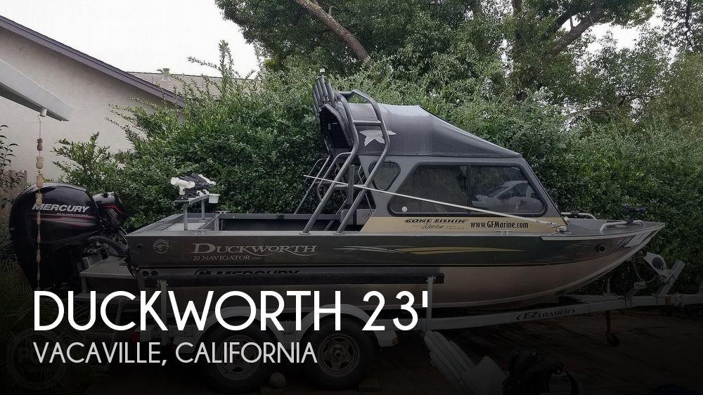 2015 Duckworth 20 Navigator Sport