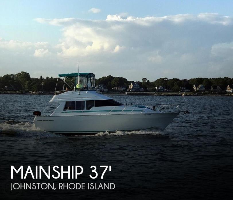 1992 Mainship 35 Convertible