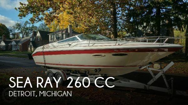 1989 Sea Ray 260 CC