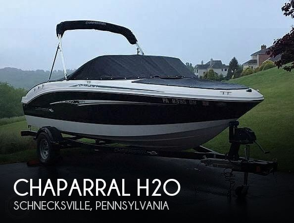 2012 Chaparral 18 H2O