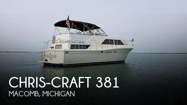 1987 Chris-Craft Catalina 381