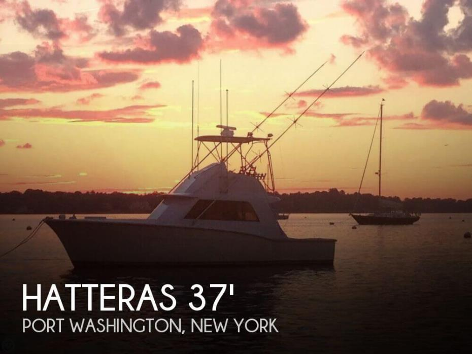 1971 Hatteras 37 Convertible