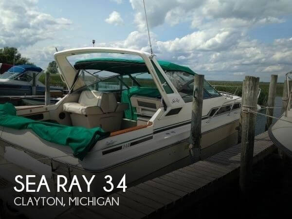 1986 Sea Ray 340 Express