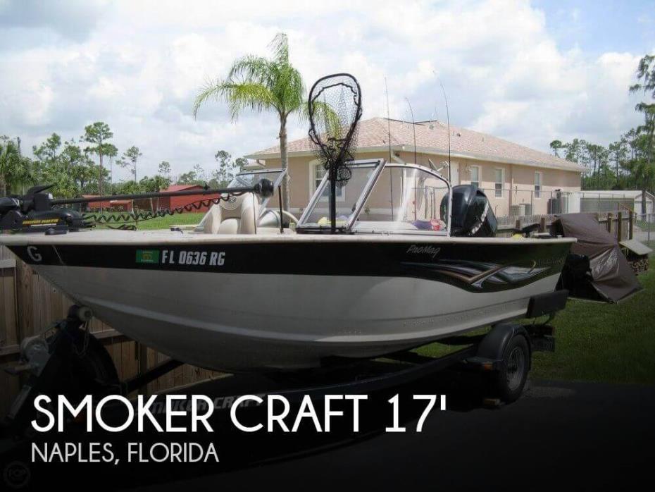 2008 Smoker Craft Pro Mag 172