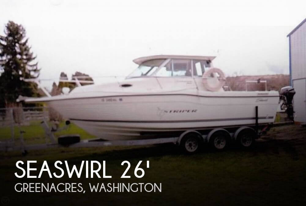 1999 Seaswirl 2600 Striper