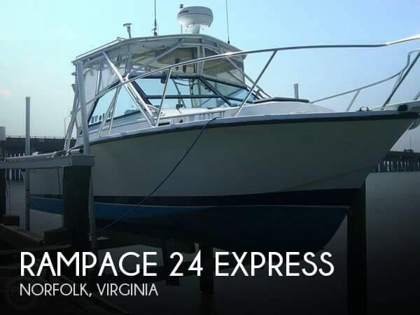 1986 Rampage 24 Express