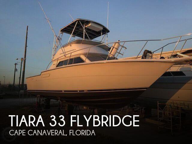 1987 Tiara 33 Flybridge