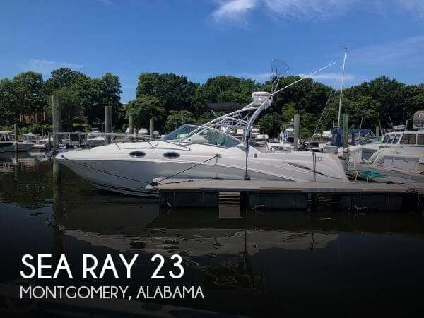 2001 Sea Ray 230 Signature