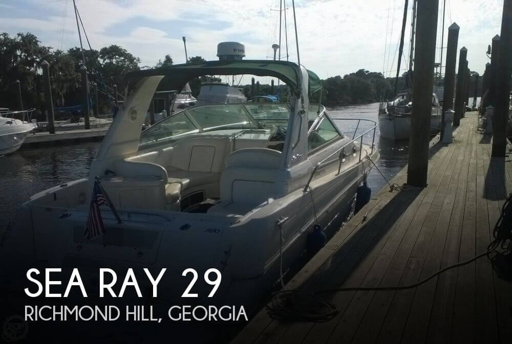 2001 Sea Ray 290 Sundancer