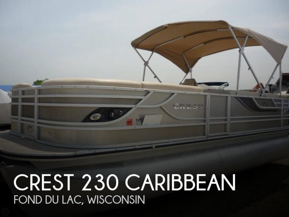 2013 Crest 230 Caribbean